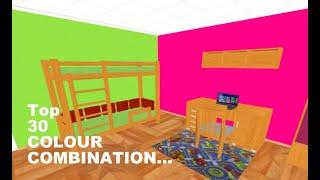 COLOUR COMBINATION FOR Kids' Bedroom | kids room wall decorating ideas 2019
