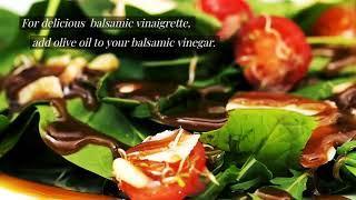 Homemade Balsamic Vinegar & Salad Dressing