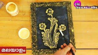 easy canvas paintings|make wall hanging|easy wall painting ideas