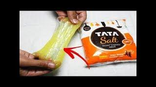 How To Make Slime With Glue, Water and Salt Only!! Slime Without Borax or Liquid Starch Indian Slime