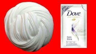 100% WORKING SHAMPOO SLIME!! How to make Slime with Dove Shampoo (no borax, no glue)
