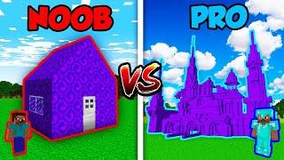 Minecraft NOOB vs. PRO: MODERN PORTAL HOUSE in Minecraft! AVM Shorts Animation