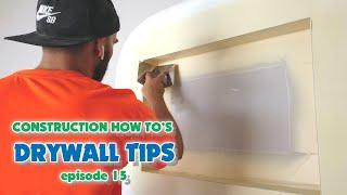 Pro Drywall Finishing Tips Using an Internal Plastering Corner Tool
