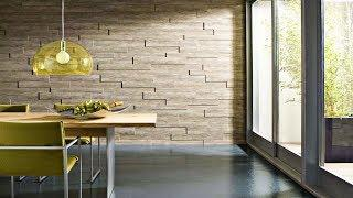 Modern wall coverings | Panels, stone, paint | Great Home Ideas