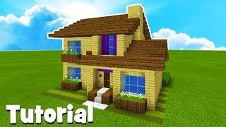 Minecraft Tutorial: How To Make A Suburban House #17