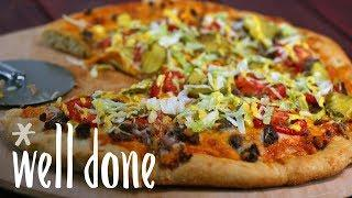How to Make Cheeseburger Pizza | Recipe | Well Done