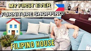 My FILIPINO House Make Over Part 1- FURNITURE SHOPPING! ????????