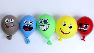 Making Slime With Funny Balloons