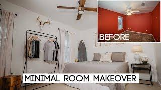 DIY Minimal Style Room Makeover! You Won't Believe The Transformation!