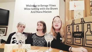 Savage Vines Wine tasting with the family (bloopers included!)