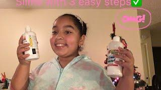How to make slime with easy steps ????