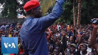 Supporters Welcome Bobi Wine Home From Prison