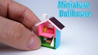 DIY Realistic Miniature Mini House | DollHouse | No Polymer Clay!