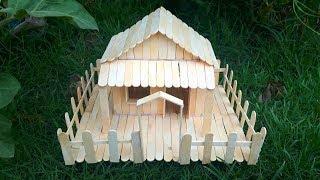 Popsicle house building - Popsicle garden villa - Dream house architecture.