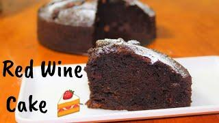 Chocolate-Red wine cake|Red wine chocolate cake|Red wine cake recipe|Wine cake Recipe|