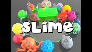 SLIME Z PIŁECZEK ANTYSTRESOWYCH/ We mix stress ball and make slime