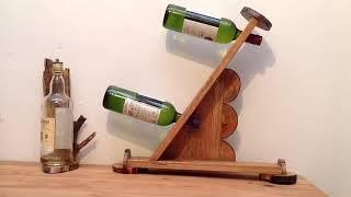 Unique Handmade Wine Rack Designs