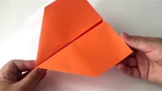 Paper Plane for Kids. Do It Yourself. Fast and Easy