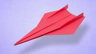 How To Make Long Range Flying Paper Airplane - Fold Incredible Fast Paper Plane