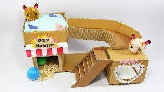 How To Make Sweet House For Hamster- Very Easy DIY