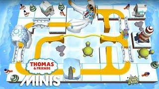 Minis engine in THE SHIVERING STUNTS Map! | Thomas & Friends Minis #303 By Budge