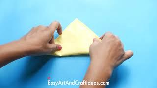 How To Make Simple and Easy Paper House : Origami Crafts