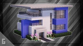 Minecraft: How To Build A Modern House Tutorial (#17)