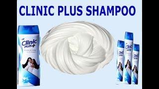 how to make clinic plus shampoo slime (no borax) (no glue) - slime with clinic plus shampoo