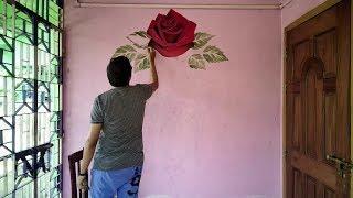 Wall Art    The Owl    Acrylic Painting