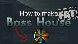 How to make FAT Bass House - FL Studio