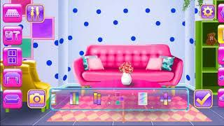 Game Babie -Dream Doll House - Decorating Game - LivingRoom Decoration