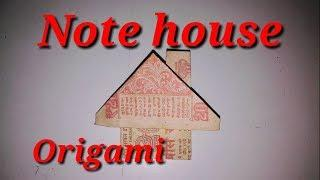 How to make Note house origami craft||Sky india||