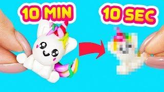 #ClayTimeChallenge   How to make a unicorn in 10 seconds!