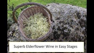 Making Elderflower Wine - The Taste of Summer (Part 1)
