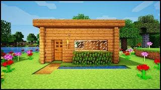 Minecraft: How To Build The Best Starter House For Beginners! - Easy Tutorial