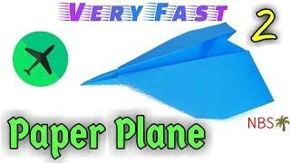 How to make Fast Paper Plane | Origami | Easy Origami | Natural Beauty Seeker