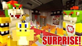 10 MILLION DOLLAR HOUSE MAKEOVER SURPRISE! | Super Mario Series | Minecraft [280]