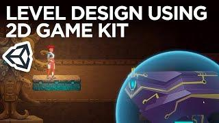 Learn basic level design with Unity's 2D Game Kit Design. NO coding needed!
