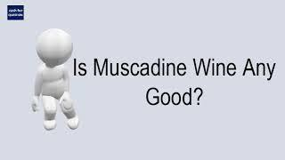 Is Muscadine Wine Any Good?