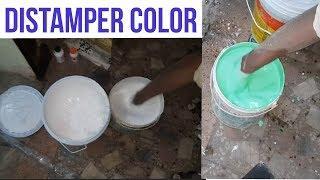 |white color |green wall color |डिस्टेंपर कलर कैसे बनता है | wall paint distemper | #wallputti #wall