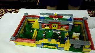 How to make a house with blocks part 1