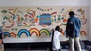 DU IR Day 2018 Wall Painting - Time Lapse