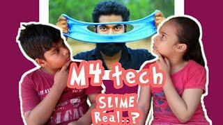 #M4tech How to make slime M4 tech spoof in malayalam