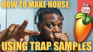 How to make House using Trap sounds????