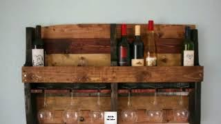 23 Awesome DIY Wood Pallet Wine Rack Ideas