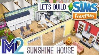 Sims FreePlay - Let's Build a Small Family House (Live Build Tutorial)