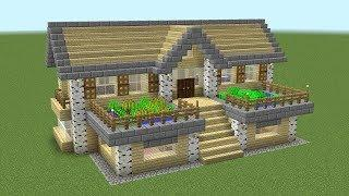 How to make a Minecraft house (In French)