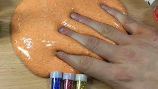 Making Slime With White Glue and Transparent Glue - Satisfying ASMR Slime Video