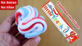 AQUAFRESH TOOTHPASTE SLIME 2 | Testing NO GLUE Toothpaste And Salt Slime, DIY Slime Without Glue!