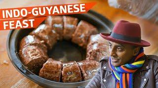 Chef Marcus Samuelsson Feasts on Some of Queens' Best Guyanese Food — No Passport Required